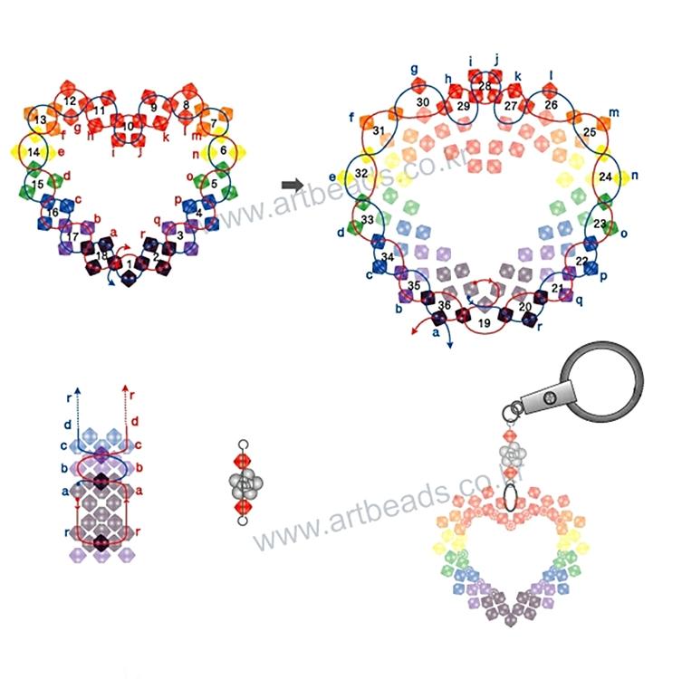 Сувениры из бисера со схемами